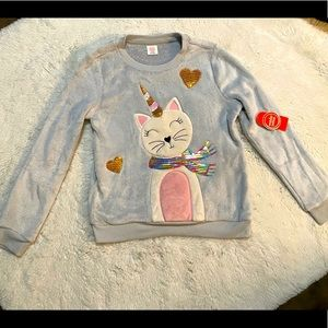 Cute Kid's Cat Sweater
